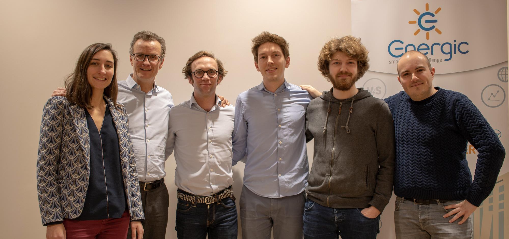 Environnement - l'équipe de la startup Energic
