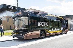 INAUGURATION TADAO BUS AHYDROGENE JUIN 2019