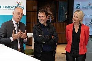 SIGNATURE DE LA CONVENTION CREDIT AGRICOLE NORD DE FRANCE - FONDATION - APELS
