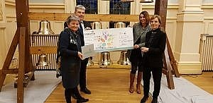 La Fondation du Crédit Agricole Nord de France mécène du carillon du Beffroi de Loos - Nov 2019