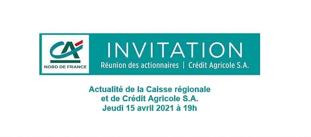 Réunion des Actionnaires CA SA - 15 avril 2021