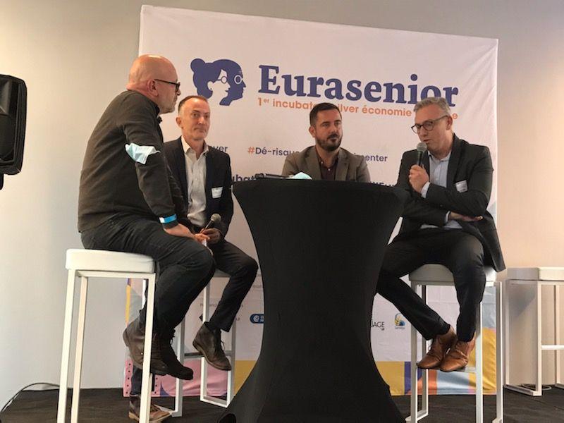 Le Crédit Agricole Nord de France partenaire d'Eurasenior, le 1er incubateur de la Silver Economie en Europe